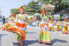 巴兰基利亚狂欢节 免版税图库摄影