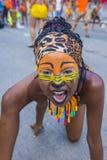 巴兰基利亚狂欢节 免版税库存图片