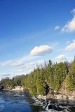 兰妮峡谷- Cambellford,安大略 免版税库存照片