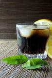 兰姆酒和焦炭 免版税库存照片