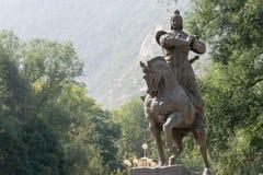 兰州,中国- 2014年9月29日:霍去病,兰州,淦雕象  免版税库存照片