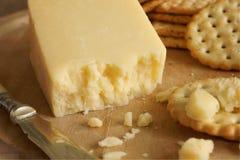 兰开夏郡乳酪 免版税库存图片