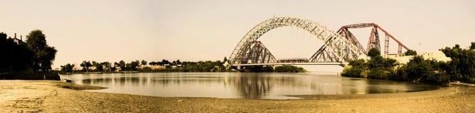 兰斯顿桥梁 免版税库存照片