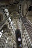 兰斯-内部大教堂  免版税库存照片