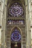 兰斯-内部大教堂  库存图片