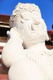 兰纳样式泰国巨人雕象在皇家植物群商展的 库存图片