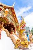 兰纳Agritecture寺庙在泰国 库存照片
