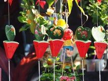 兰花轰隆泰国Krachao的庭院 曼谷 图库摄影