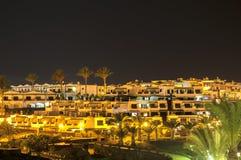 兰萨罗特岛夜 免版税库存照片