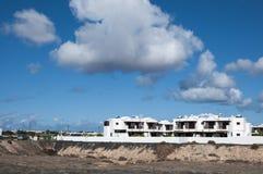 兰萨罗特岛房子 图库摄影