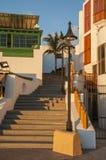 兰萨罗特岛房子 免版税库存图片