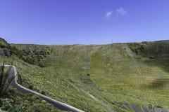 兰萨罗特岛横向 免版税库存图片