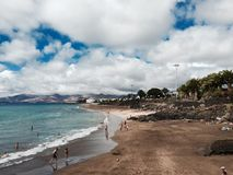 兰萨罗特岛海岛 免版税库存照片