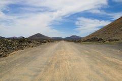 兰萨罗特岛火山的风景006 免版税图库摄影
