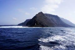 兰萨罗特岛盖帽 库存图片