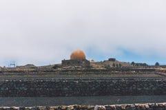 兰萨罗特岛观测所 库存照片