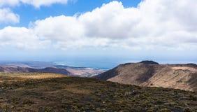 兰萨罗特岛风景 免版税库存照片