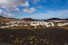 兰萨罗特岛,西班牙,欧洲 库存照片