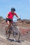 兰萨罗特岛,西班牙- 5月03 :玛丽亚del在行动的Pilar N345在副词 库存照片