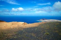 兰萨罗特岛Mirador del里约图001 图库摄影