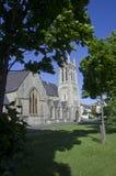 兰迪德诺,北部威尔士,英国06/06/2015社论 教会视图 免版税图库摄影