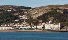 兰迪德诺, WALES/UK - 10月7日:兰迪德诺看法在威尔士 免版税库存照片