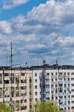 共产主义块 图库摄影