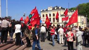 共产主义政治集会 影视素材