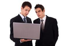 共同努力业务组的人 免版税库存图片