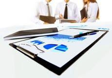 共同努力企业的小组 免版税库存图片