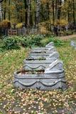 共同坟墓 库存照片