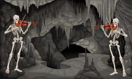 共同安排洞穴。 皇族释放例证