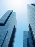 共同的现代企业摩天大楼, 免版税库存图片