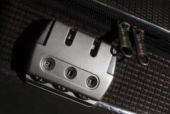 行李锁 图库摄影