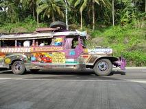 共同的运输jeepney 免版税库存照片