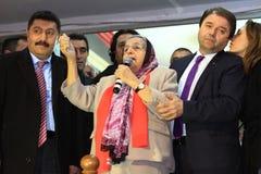 共和党人民的党(CHP)会议 免版税图库摄影