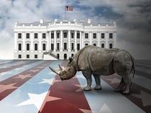 共和党人仅只名上 免版税库存照片