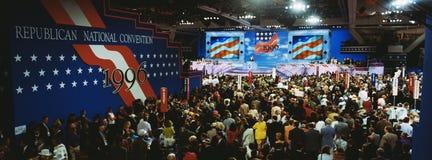 共和党全国代表大会 库存图片