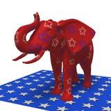 共和党大象 库存照片