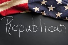 共和党符号 免版税图库摄影