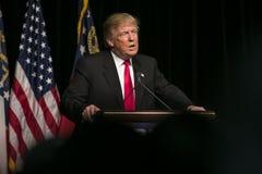 共和党总统候选人唐纳德J王牌 免版税库存图片