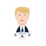 共和党总统候选人 免版税图库摄影