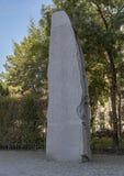 共和国、纪念碑反对战争和法西斯主义,维也纳,奥地利石头  库存照片