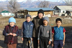 共和国吉尔吉斯斯坦 库存照片