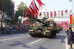 共和国天土耳其庆祝 库存照片