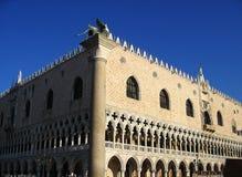 共和国总督宫殿威尼斯 库存照片