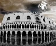 共和国总督宫殿s威尼斯 库存照片