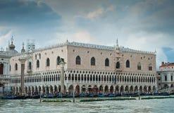 共和国总督宫殿s威尼斯 免版税图库摄影