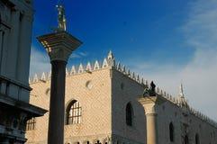 共和国总督意大利宫殿s威尼斯 免版税库存图片