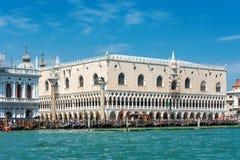 共和国总督` s宫殿或者Palazzo Ducale,在威尼斯 免版税图库摄影